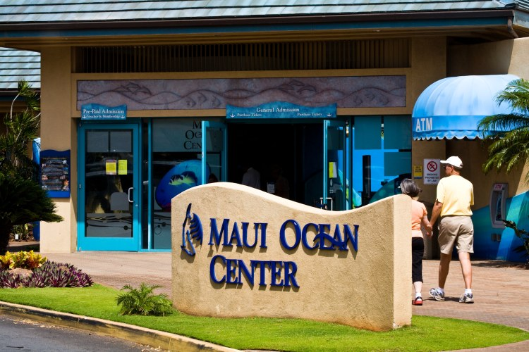 Maui Ocean Center Aquarium