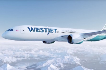 WestJet to Hawaii with Flatbed