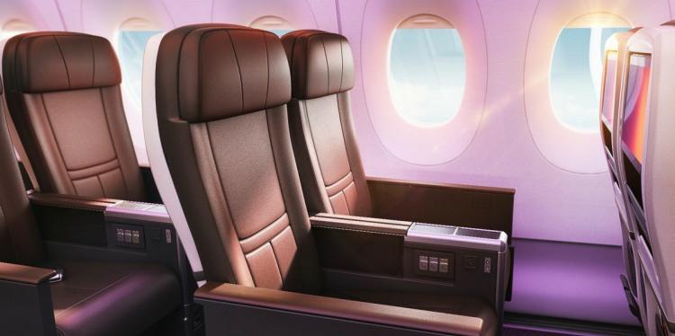 Virgin Premium Economy Seat
