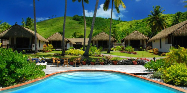 Atiu Villas, Cook Islands - Swimming Pool