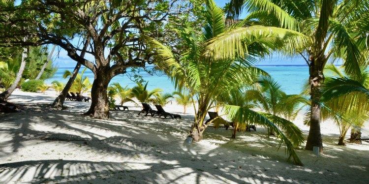 Tamanu Beach, Beachfront, Aitutaki, Cook Islands