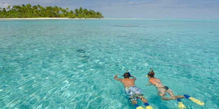 The Vaka Cruise, Aitutaki, Cook Islands